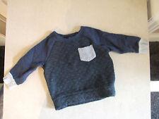 Mini Rebel Bébé garçon 9-12 mois fabuleux rembourré gris & bleu marine chaud