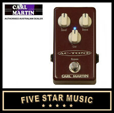 CARL MARTIN ACTONE SINGLE CHANNEL OVERDRIVE PEDAL VOX AC TONE - NEW AC-TONE