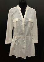 TOMMY HILFIGER Camicia Donna Cotone Etnic Indian Cotton Woman Shirt Sz.M - 44