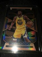 2019-20 Panini Obsidian ANDREW WIGGINS Warriors Orange Electric Etch #116 #d/50