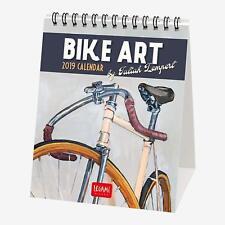 Bike Art 2019 Desk Calendar - 12 x 14.5 cm