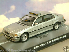 1/43 de Metal James Bond 007 BMW 750i 750il en la Plata de Mañana Never Dies