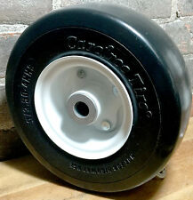 """9x3.50-4 Carefree Solid Tire & Wheel Deck Caster 3/4"""" OCRB Gravely 45205"""