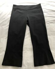 Lululemon Athletica Capri Crop Yoga Pants Black, Women's Size 8