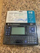 Texas Instruments Ti-92 Calculator Brand New Nostalgia Missing 2 Battery's