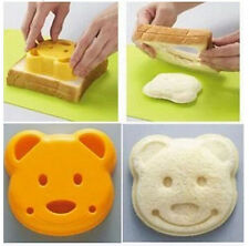 Hot Cute Teddy Bear Sandwich Shape Bread Cake Mold Maker DIY Mold Cutter Craft