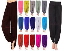 Ladies Ali Baba Hareem Trousers Womens Baggy Plus Size Long Leggings Pants 8-26