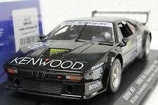FLY 051105 BMW M1 KENWOOD 1000km NURBURGRING 1986 NEW 1/32 SLOT CAR IN DISPLAY
