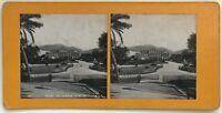 Nice Giardino Pubblico Foto P39L8n9 Stereo Stereoview Vintage Analogica