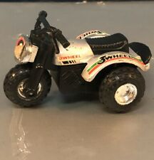 Vintage  Plastic Toy 3 Wheeler Tricycle self propelled used works Collectable