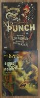 Neil Gaiman Dave McKean Mr. Punch 20th Anniversary HC & Signal to Noise HC 2nd E