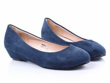 8 Color Office Lady Fashion Wedges Platforms Womens Casual Low Heels Shoes Size