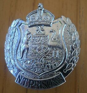 N.T. PRISONS Hat Badge - Obsolete