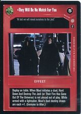Star Wars CCG Coruscant Rare They Will Be No Match For You
