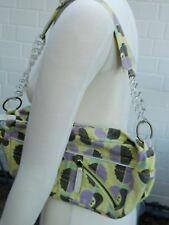 Handtasche Killah bunt, gelb,lila grau, grün, neu