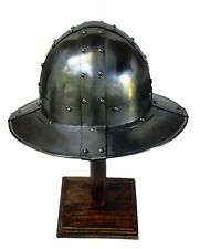 Medieval Kettle Hat Reproduction 18G Steel War Hat circa 950 - 1550 AD