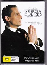 Sherlock Holmes - The Crooked Man/The Speckled Band - DVD (Brand New Sealed) R4