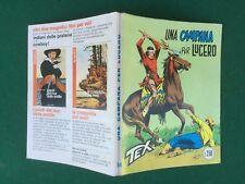 TEX GIGANTE n.154 UNA CAMPANA PER LUCERO Ed.Araldo (1973) L.250 Fumetto West