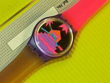 Swatch von 1991 - PINK AVIS - GV105 - NEU & OVP