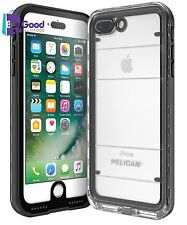 Pelican Marine Waterproof iPhone 7 Plus Case (Black/Clear)