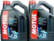 Motul 3000 20w50 4t ACEITE DE MOTOR 20w-50 PARA 4-takt MINERAL 2x 4 Litros