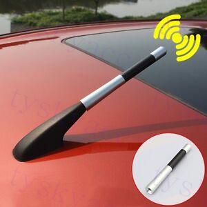 Universal Auto Accessory Amplifier Aerial AM FM Radio Signal Amp Antennas Trim
