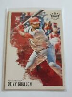 Deivy Grullon 2020 Panini Diamond Kings Rookie RC High Number SP #155 Phillies