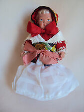 Vintage Hard Plastic Girl Doll Numbered