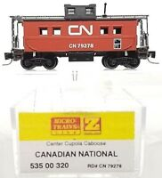 Z Micro-Trains MTL 535 00 320 Canadian National Caboose # 79278 NIB