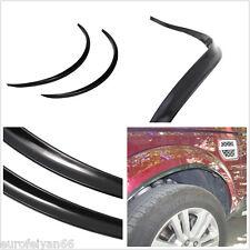 Black Car Exterior Fender Wheel Eyebrow Decoration Protector Decals Anti-Scratch