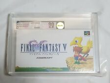 NEW Final Fantasy V Super Famicom Game VGA 90 NM+/MT GOLD SFC SNES Japan ff 5