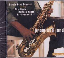 New! HAROLD LAND Promise Land 24K GOLD CD JAZZ Be Bop Hard Bop 2001 Rare OOP