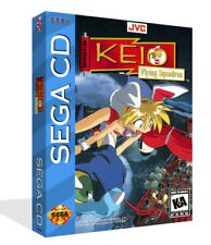 Keio Flying Squadron Sega CD Replacement Game Case + Box Art Work Cover no game