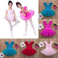KaiCran Toddler Girl Baby Soft Leotards Ballet Playsuit Dancewear Gymnastics Classic Costume