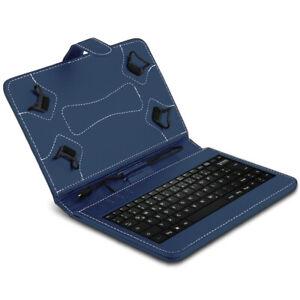 Hülle Tastatur Tasche für 10 10.1 10.2 10.3 10.4 Zoll Tablet Schutzhülle Blau