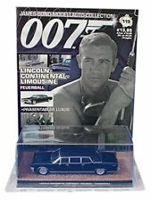 JAMES BOND CAR COLLECTION 119 LINCOLN CONTINENTAL STRETCH LIMOUSINE  NEW SEALED