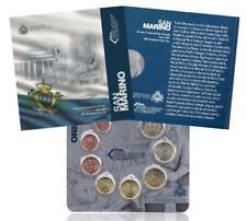 SAINT MARIN  SAN MARINO - SET - 2012 - BU - 8 Pieces  coins in  BLISTER