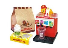07/2017 Re-Ment Miniature Sanrio Gudetama Burger Shop Set # 8 Juice server