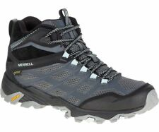 Merrell Moab FST Mid GTX Womens Footwear Walking Shoes - Granite All Sizes UK 4.5