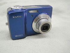 Kodak EasyShare CD82 12.4MP Blue Digital Camera Point & Shoot 12.4 MP