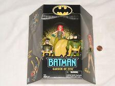 NEW Batman and Robin Vs. Poison Ivy Garden of Evil Toy Figure Set 3 Pack bat man