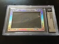Sheryl Swoopes 2012 Leaf Masterpiece Cut Signature autograph signed card 1/1 JSA
