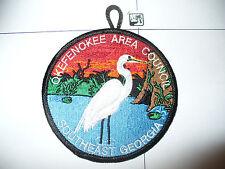 CP Okefenokee Area Council, 2008 White Heron,FOS, BLK Bdr,pp,OA 229 Pilthlako,GA