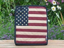 American, stars and Stripes ipad case in 100%cotton