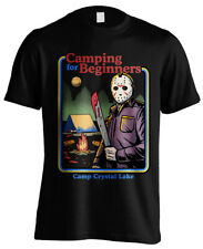 Official Friday the 13th JASON VOORHEES Camping Beginners Unisex T-Shirt Tee NEW