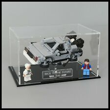 Acrylic Display case for the LEGO Delorean Back to the Future (21103)