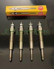 4 Ford New Holland Skid Steer Loader Lx465 Lx485 Lx565 Lx665 Ngk Glow Plug