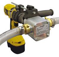 Perbunan Impeller Pumpe ZUWA UNISTAR 2001-B, 60L/min, mit Bohrmaschinen-Adapter