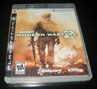 Playstation 3 PS3 Call of Duty Modern Warfare 2 Video Game W Manual COD