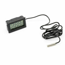 Mini Digital LCD Thermometer With Probe For Fridges Freezers Coolers Chillers